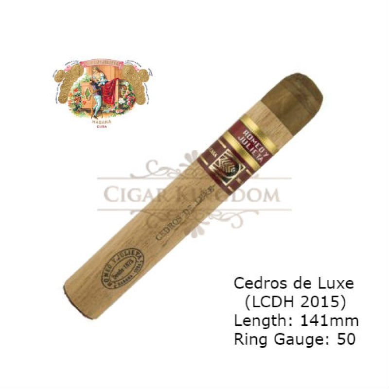 Romeo y Julieta - Cedros de Luxe (LCDH Exclusivo 2017) (Pack of 10s)
