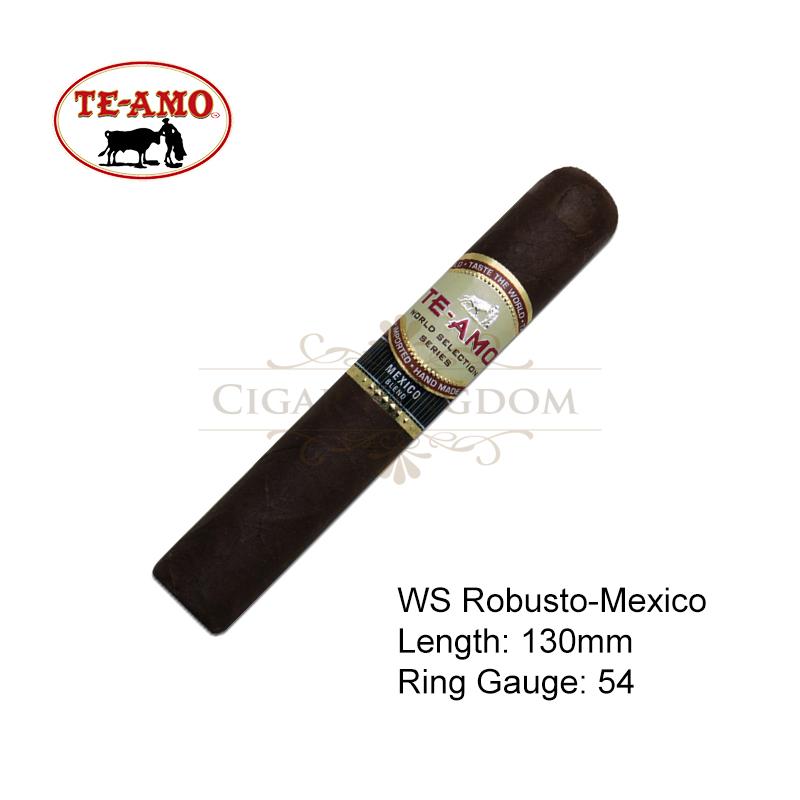Te-Amo - World Selection Series Robusto - Mexico (1-Stick)