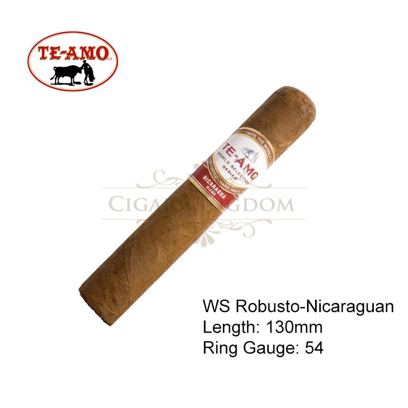 Te-Amo - World Selection Series Robusto - Nicaraguan (1-Stick)
