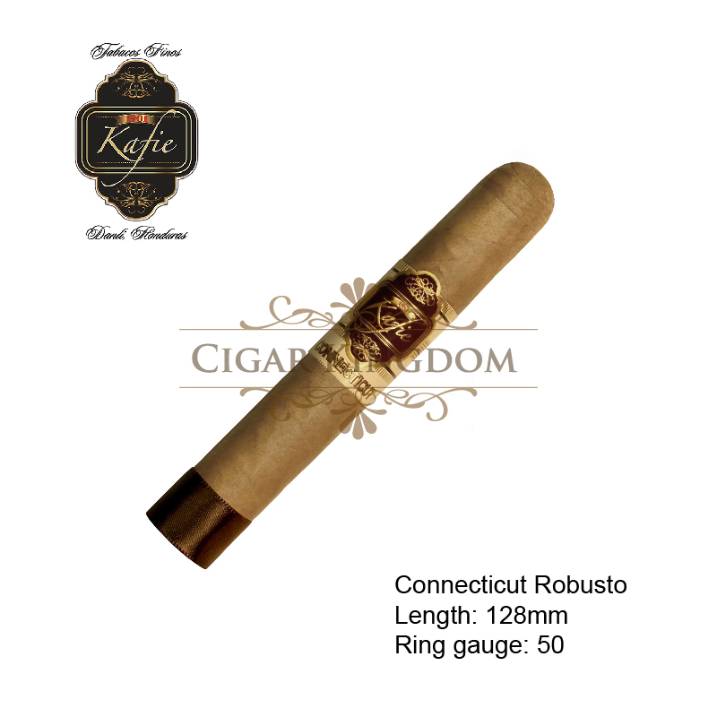 Kafie 1901 - Ecuador Connecticut Robusto (1-Stick)