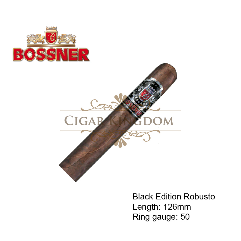 Bossner - Black Edition Robusto (1-Stick)
