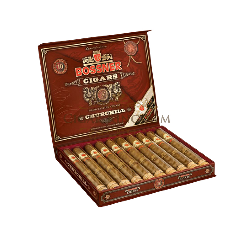Bossner - Churchill T.E. Limited Edition (Pack of 10s)