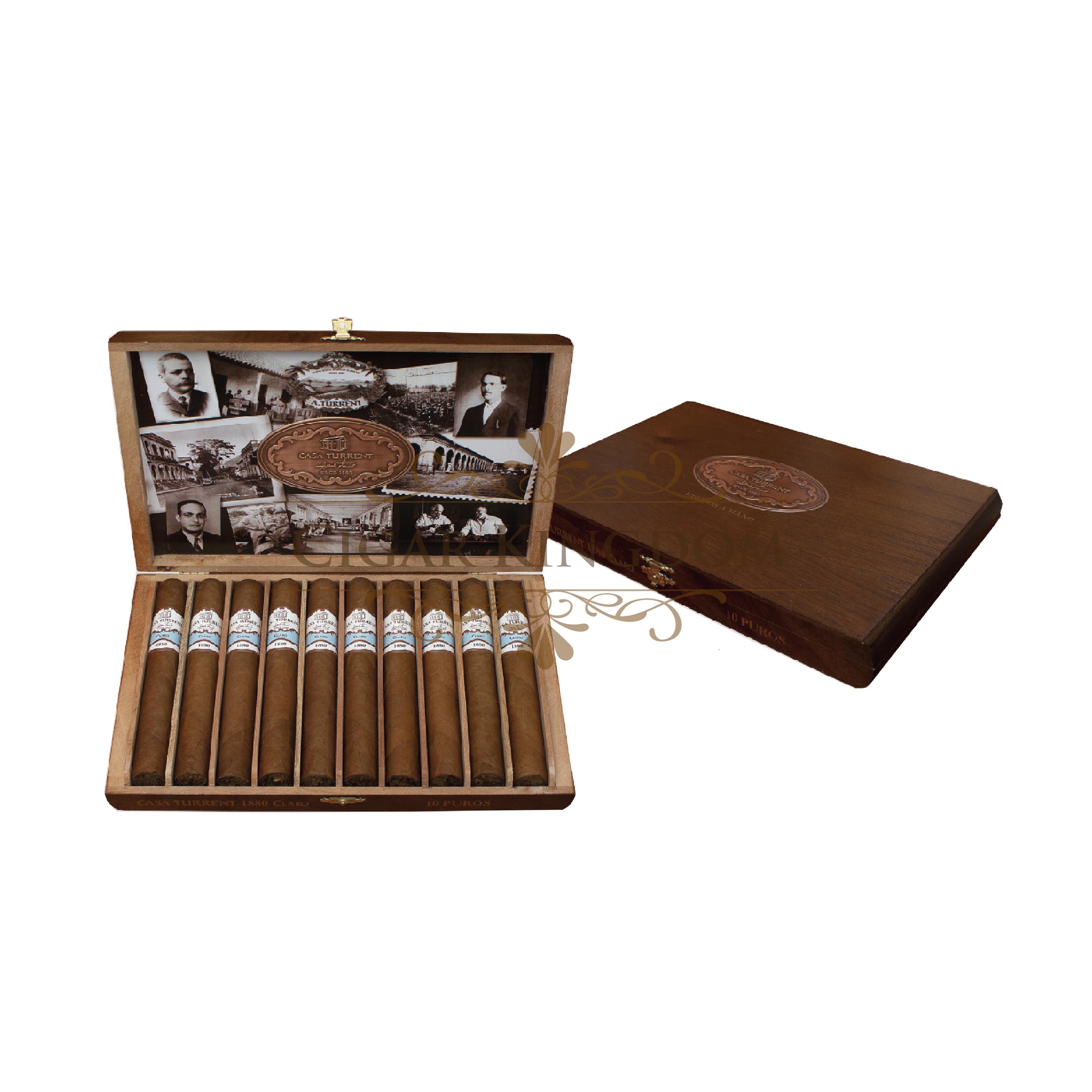 Casa Turrent 1880 Claro (Pack of 10s)
