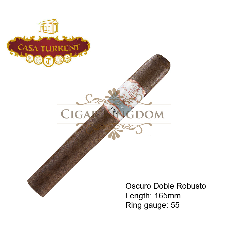 Casa Turrent 1880 Oscuro (1-Stick)