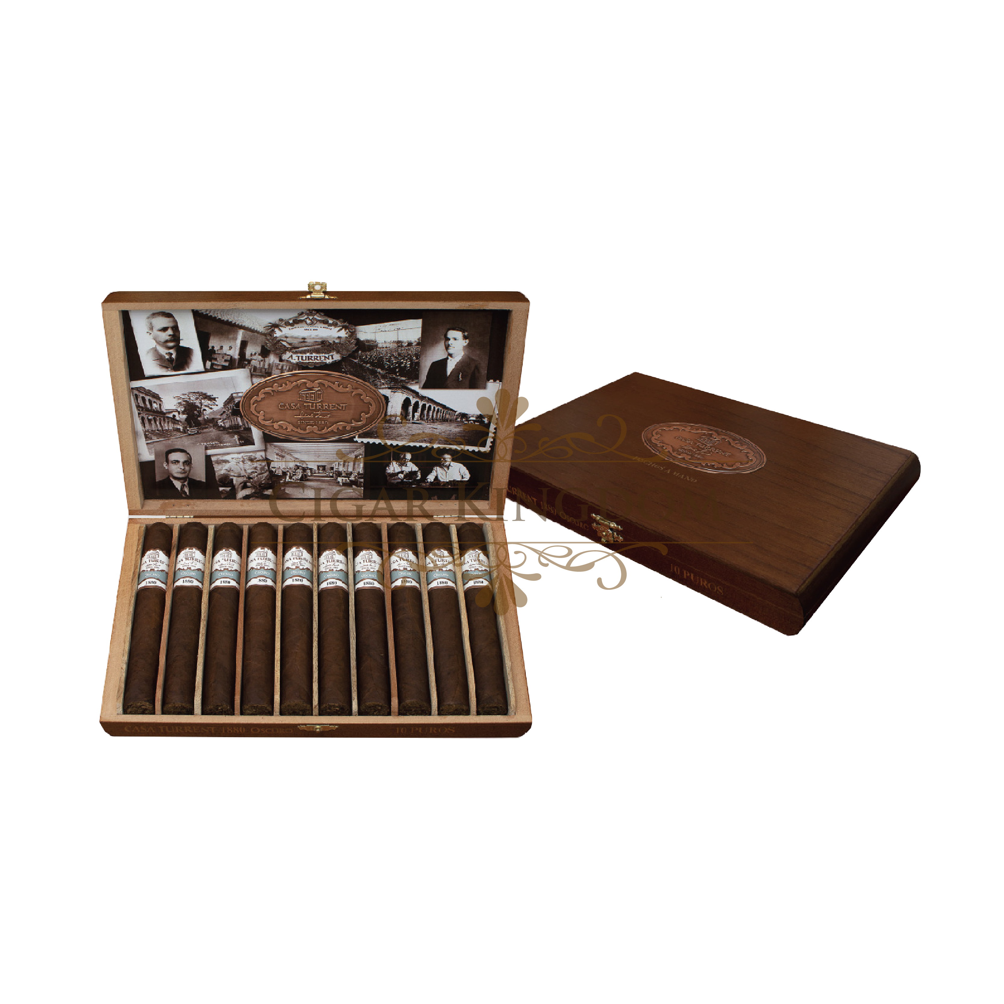 Casa Turrent 1880 Oscuro (Pack of 10s)