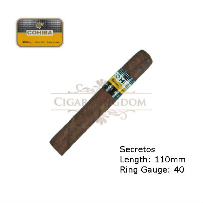 Cohiba - Maduro 5 Secretos (Pack of 10s)