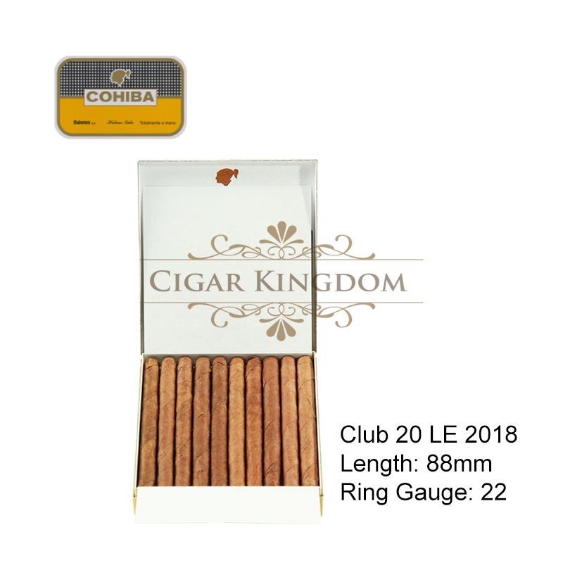 Cohiba - Club 20 Limited Edition 2018 (1-Stick)