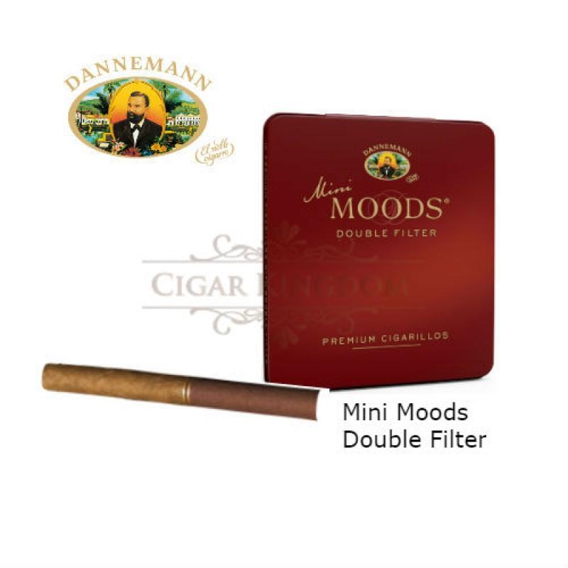 Dannemann - Mini Moods Double Filter (Pack of 10s)
