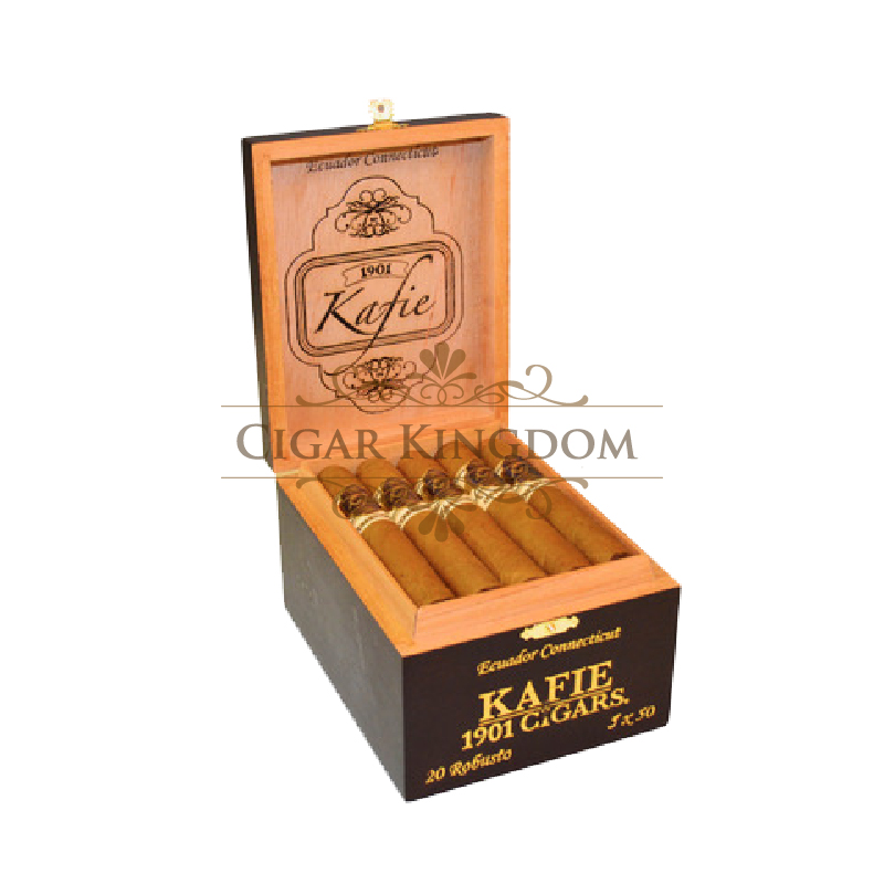 Kafie 1901 - Ecuador Connecticut Robusto (Pack of 20s)