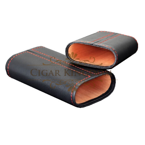 SIGLO Cedar Leather Case - Red Stitch