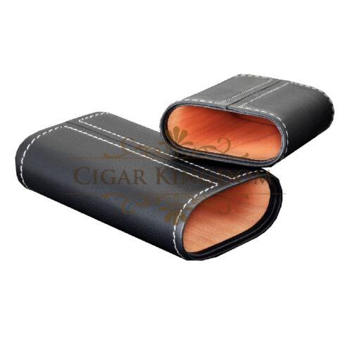 SIGLO Cedar Leather Case - White Stitch