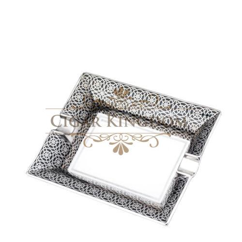 SIGLO Opulent Ashtray - Silver Large