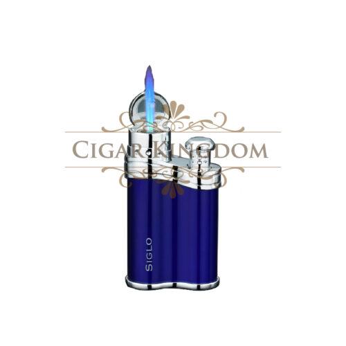 SIGLO Bean Shape Lighter - Dark Blue