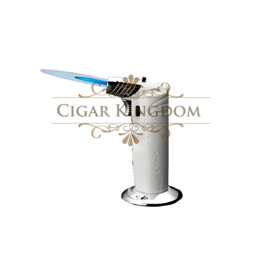 SIGLO Table Torch Oval - White
