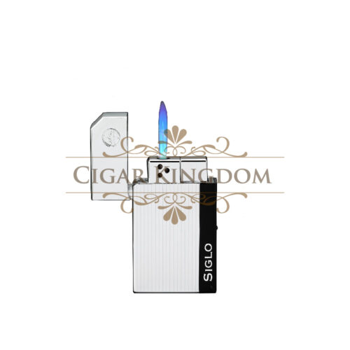 SIGLO Chrome Lighter - Electro Stripe