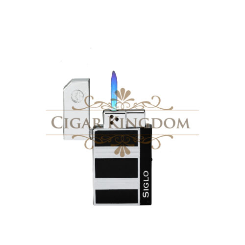 SIGLO Chrome Lighter - Obsidian Chrome