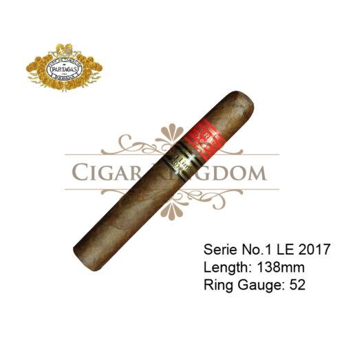 Partagas Serie No.1 LE2017 1s (1-Stick)