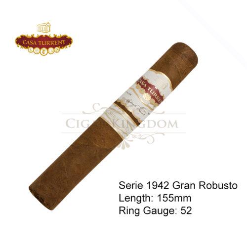 Casa Turrent - Serie 1942 Gran Robusto (1-Stick)