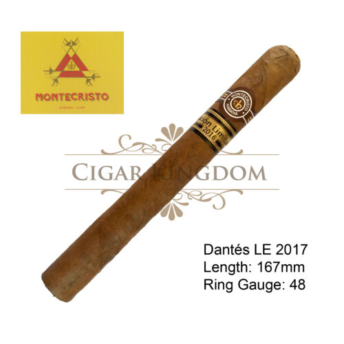 Montecristo - Dantes Limited Edition 2016 (Pack of 20s)