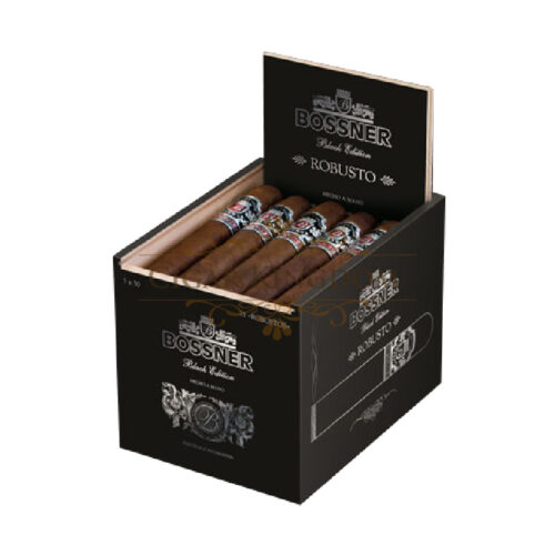 Bossner - Black Edition Robusto (Pack of 25s)