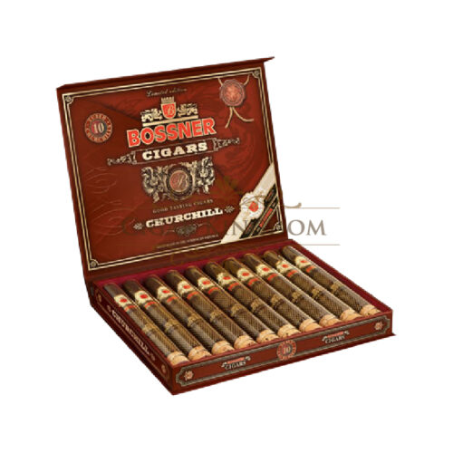Bossner - Churchill Maduro T.E. Limited Edition (Pack of 10s)