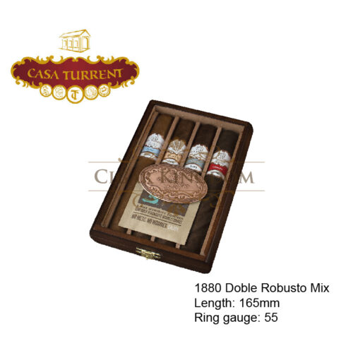 Casa Turrent 1880 Double Robusto Gift Pack 4s