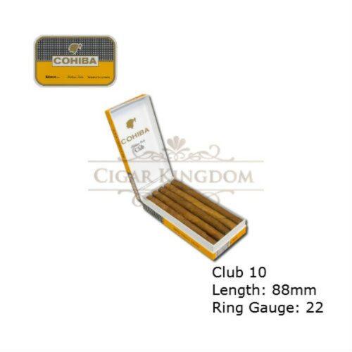 Cohiba - Club 10 (Pack of 10s)