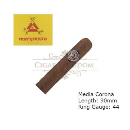 Montecristo Media Corona (1-Stick)